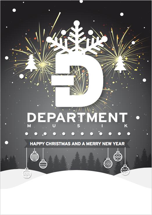 Frohe Weihnachten Musik.News Department Musik